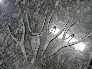 Snap on Tools Transmission Snap Ring Pliers Set Srp1b Srp2a Srp3a Srp5b