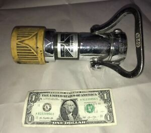 Elkhart Brass Mfg Select o matic Fire Hose Nozzle Sm 10 100 Gpm Firefighter