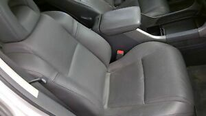 2003 Honda Pilot Passenger Rh Manual Gray Leather Seat