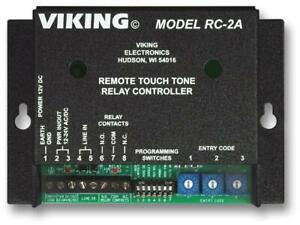 Viking Electronics Remote Touch Tone Controller Rc 2a