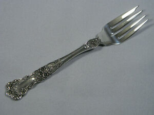 Gorham Buttercup Sterling Silver Salad Fork Excellent New Mark