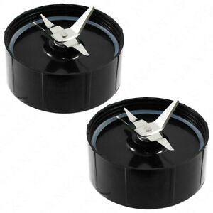 2 Pack Cross Blade With Gasket For Magic Bullet Blender MB 1001 Replacement Part $11.98