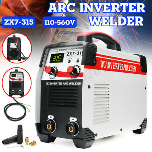 110 560v 8000w 315 Amp Stick Welding Mma Igbt Inverter Welder Machine Arc Force