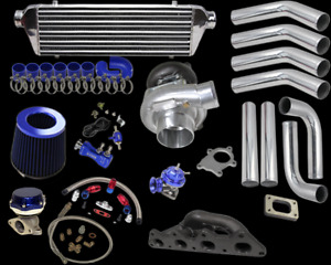 For Mit Eclipse 00 05 L4 4g64 T3 t4 Turbo Charger Intecooler Piping Manifold Kit