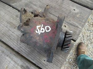 Farmall 560 Gas Tractor Ihc Good Working Governor Assembly Cover Linkage