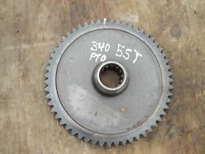 Farmall 340 Rc Tractor Ih Ihc Power Take Off Pto Drive 55 Tooth Gear