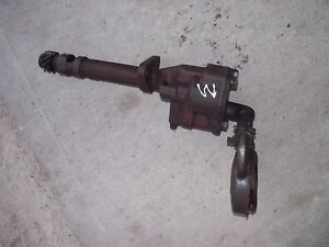 Farmall M Early Sm Tractor Original Ihc Engine Motor Oil Pump Sump Screen