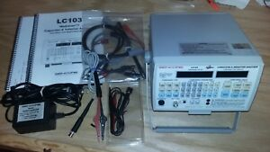 Sencore Lc103 Rezolver Capacitor Inductor Analyzer Tester Complete W Manuals