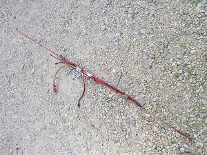 Farmall C Tractor Linkage Control Rod Rods Fuel Line Battery Cable