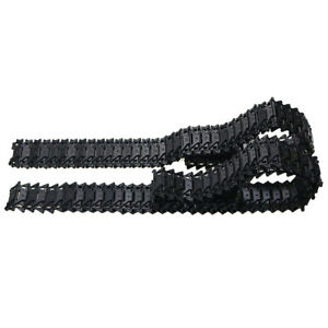 2pieces Metal Track Crawler For Smart Robots Tank Car Chassis
