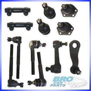 Steering Kit Component Idler Pitman Arm Tie Rod End Ball Joint For Chevy C10 R10