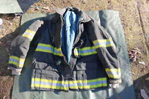 Globe Firefighters Jacket Gx 7 Turnout Gear Fireman Size 48x32