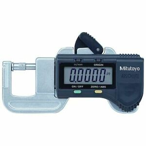 Mitutoyo 700 118 20 0 1 2 Range 0005 Res Electronic Thickness Gage