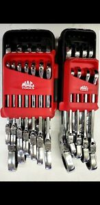 Mac Tools Locking Flex Ratcheting 20pc Never Used Metric And Standard Sets