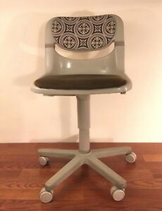 Vintage Retro Dorsal Open Ark Task Desk Chair By Krueger