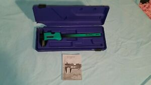 Interapid Brown Sharpe 6 Inch Digital Caliper Lightweight Green W Case