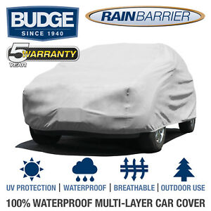 Budge Rain Barrier Suv Cover Fits Small Suvs Up To 13 5 Long Waterproof