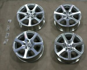 Set Of 4 Oem Honda 16 Civic Alloy Wheels Factory Honda Dealer Accessory Nos