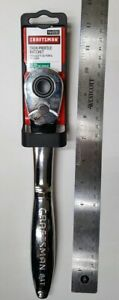 New Craftsman 1 2 Drive Full Polish Thin Profile 84 Tooth Ratchet 44996