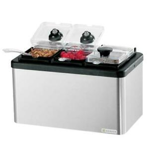 Server 87290 Insulated Mini Bar W 3 Jars And Spoons