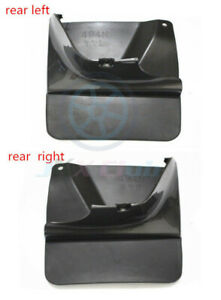 For Toyota Land Cruiser Prado Fj120 2003 09 2pcs Both Rear Mud Flaps Dirtboard J