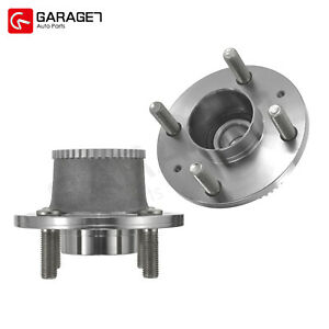 2 Rear Wheel Hub Bearing Assembly For Chevrolet Spark Byte Hatchback 4 Door