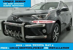 2019 2020 Toyota Rav4 unique And Fully Front Bumper Guard Protector S s Tubing