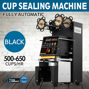 Electric Fully Automatic Cup Sealing Machine 500 650 Cups h Shop Useful Tool