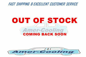 3row Aluminum Radiator 16 Fan For 1924 1927 Ford Model T Bucket Chevy Engine