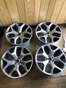 14 2015 2016 2017 18 Dodge Charger Challenger 20 Polish Oem Wheel Rim Set 2523