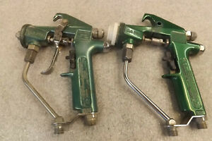 Graco Aa Plus Conventional Spray Gun Lot Free Shipping Revised On 3 20 Make Offe
