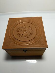 Antique Civil War Era Collar Box Gutta Percha From Ward S