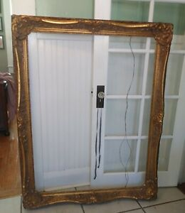 Huge Antique Museum Quality Newcomb Macklin Style Gold Gilt Picture Frame 36x48