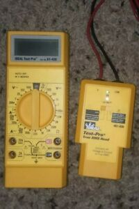 Ideal Pro Multimeter With Leads Model 61 420