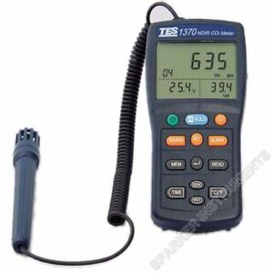 Tes1370 Ndir Co2 Analyzer Temperature Humidity Meter Carbon Dioxide Tester rs8
