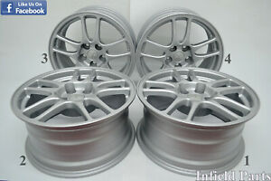 Jdm 17 Mitsubishi Evolution 9 Ct9a Oem By Enkei 17x8 38 5x114 3 Rims Eh479