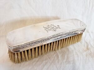Sterling Silver Birmingham Mappin Webb Grooming Brush Antique 1870