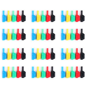 60 Pcs Seal Insulated Safety Protection 4mm Banana Plug 5 Colors