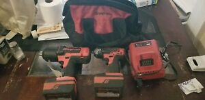 Snap On Tools Ct7850 1 2 Drive 18v Cordless Impact Wrench Refurbished 3 8