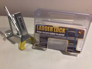 Ladder Lock In Carrying Case Extension Ladder Securing Device