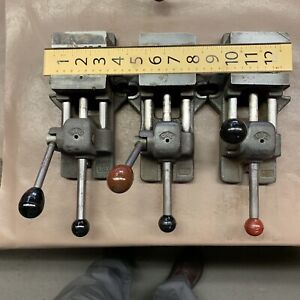 3 Heinrich Cam Lock Vise American Made For Drilling Machining