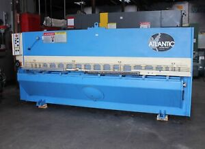 1 4 X 10 Atlantic Hde 10 1 4 Hydraulic Power Squaring Shear Metal Cutting 2000