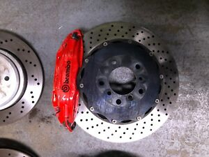 Bmw E46 M3 Brembo Front Rear Gt Brake Kit 4 Piston