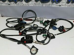 Survivair 1997 Edition Air Regulator With Pass Device Scba Tested Set Of 3