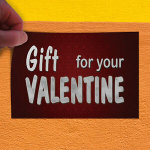 Decal Sticker Gift For Sale Valentine Business Gifts Outdoor Store Sign White