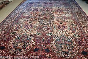 Exceptional Extra Large Antique Persian Rug One Of Kind