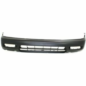 Bumper Cover For 94 95 Honda Accord 4cyl Engine Front Primed With Spoiler Holes