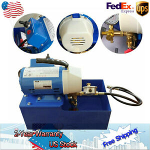 150w Electric Pressure Test Pump Hydraulic Piston Testing Pump 2 5mpa 110v