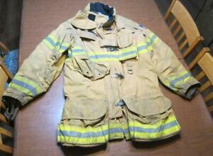 Lion Janesville Firefighter Fireman Turnout Gear Jacket Size 42 35 r c n1