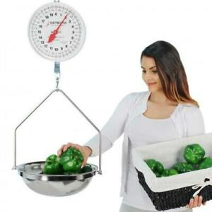 Detecto Mcs 40f 20 Lb X 2 Oz Dial Hanging Scale